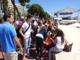 Cannes celeb spotting.
