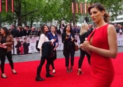 Nargis Fakhri at Spy movie premiere in London