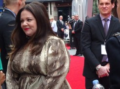 Melissa McCarthy at Spy movie premiere in London