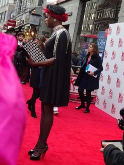 Kinky Boots Opening Night: a fab looking guest