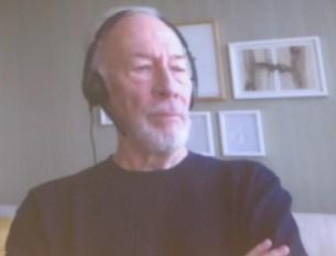 Remember: Christopher Plummer via Skype