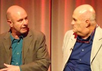 Brooklyn: writers Nick Hornby & Colm Toibin