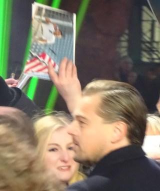 The Revenant Premiere: Leonardo DiCaprio