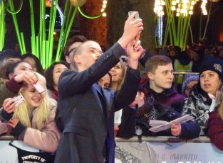 The Revenant Premiere: Will Poulter - King of the Selfie