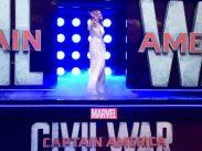 Captain America: Civil War Premiere - Elizabeth Olsen