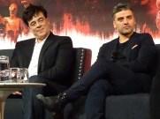 Star Wars: The Last Jedi - Benicio del Toro & Oscar Isaac