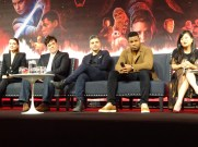 Star Wars: The Last Jedi - Daisy Ridley, Benicio del Toro, John Boyega, Kelly Marie Tran