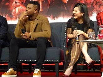 Star Wars: The Last Jedi - John Boyega & Kelly Marie Tran