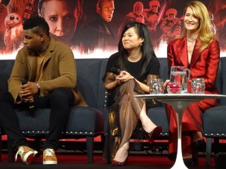 Star Wars: The Last Jedi - John Boyega, Kelly Marie Tran, Laura Dern