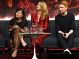 Star Wars: The Last Jedi - Kelly Marie Tran, Laura Dern & Domhnall Gleeson