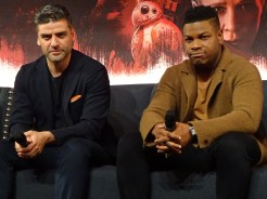Star Wars: The Last Jedi - Oscar Isaac & John Boyega