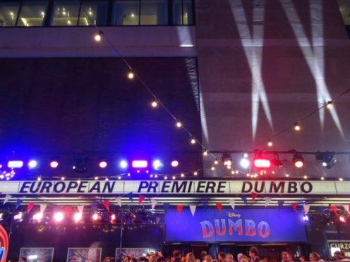 Dumbo European Premiere