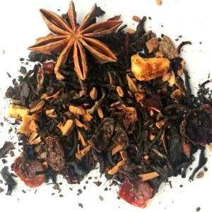 spiced orange mocha black tea