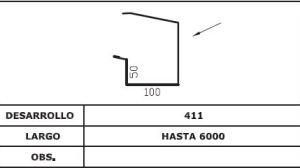 Diseño Frontal canalón AIS COPPO