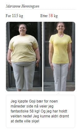 goji bær pris