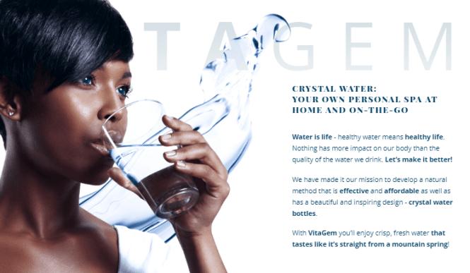 vitagem water bottle