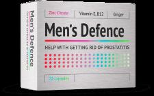 Men's Defence pentru lupta cu prostatita