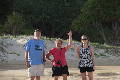 Bill, Gail and caitlin