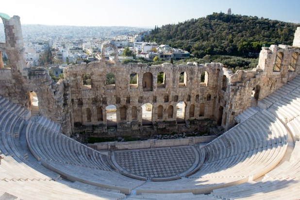 An old ampitheater.
