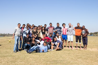 Everyone who played or watched. Crew, locals and tourists.