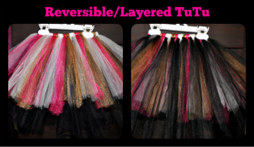 Reversible NO-SEW TuTu Tutorial (4/6)