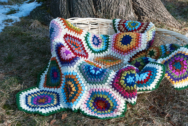 Crochet Blanket Ideas with links to Free Patterns (6/6)
