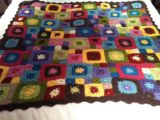 Crochet Blanket Ideas with links to Free Patterns (5/6)