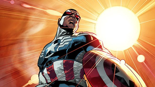 El Capitán América será afroamericano - Marvel