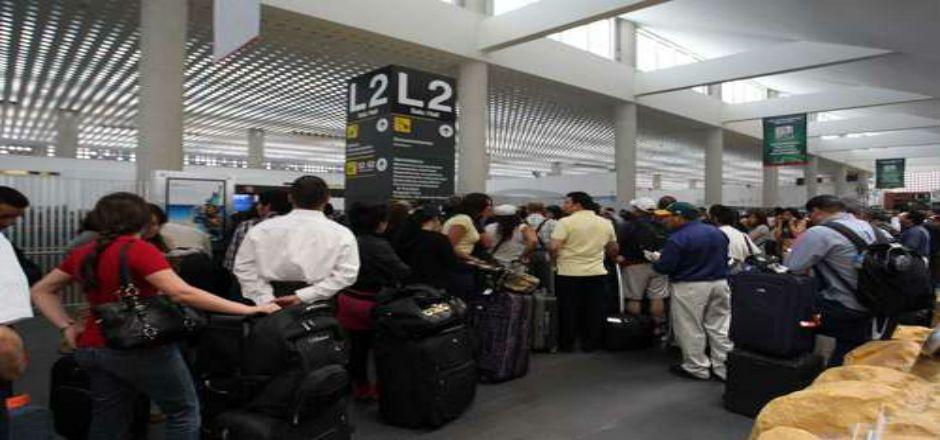 AICM llegará a máxima capacidad al cierre del año - Foto de La Jornada