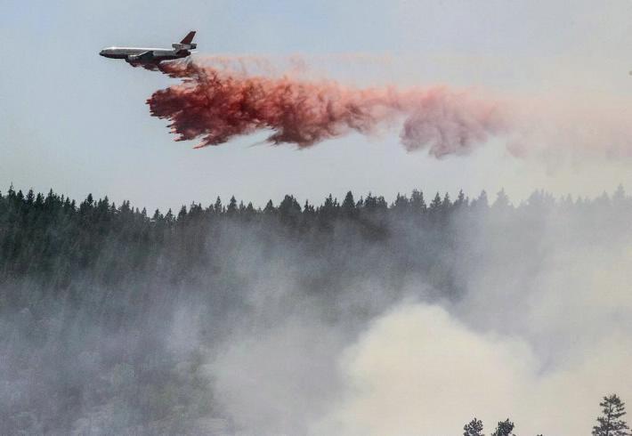 Avanza incendio en Yosemite y pone en riesgo el parque de sequoyas