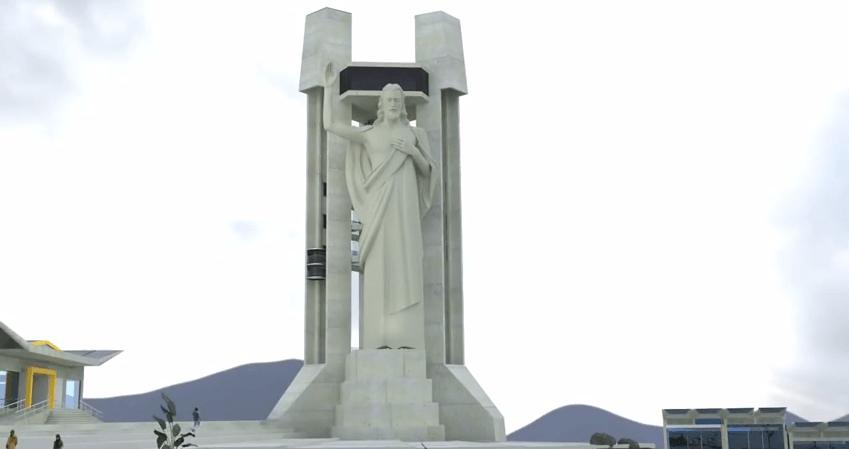Cristo colombiano será más alto que el Corcovado