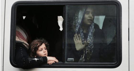 Éxodo de Gaza a Jordania - Foto de El País