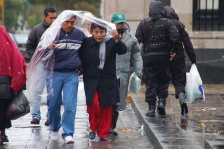 Se prevén lluvias de fuertes a muy fuertes para hoy - Foto Notimex