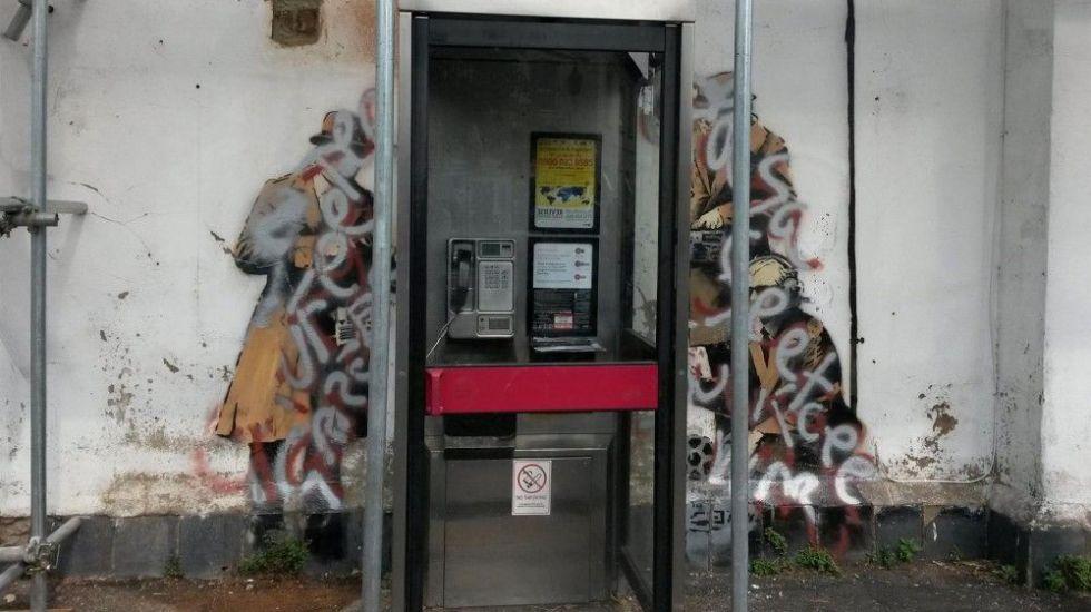 Rayan mural de Banksy - Internet