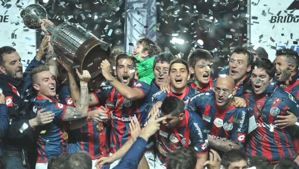 San Lorenzo campeón de la Copa Libertadores - Foto de Telam