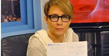 Denise Maerker rechaza hacer el #ALSicebucketchallenge - Foto de Milenio