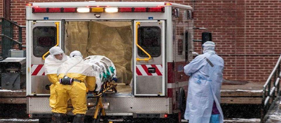 Lanza OMS plan de 100 mdd contra el ébola - Foto de Mirror Online