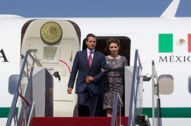 Peña Nieto inicia gira de trabajo en California