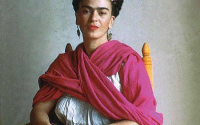 Llega exposición con rebozos de Frida Kahlo a Londres - Internet