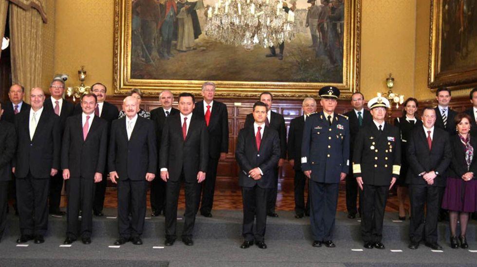 ¿Qué estudió el Gabinete de Peña? - Foto de Línea Recta