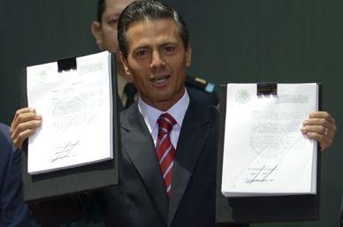 Publican decretos de las leyes energéticas - Foto Notimex
