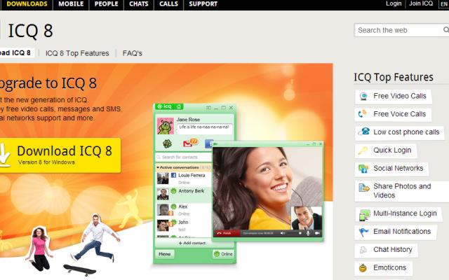 Regresa el servicio de mensajería ICQ - ICQ