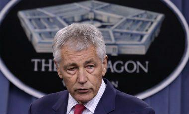 Departamento de Defensa de EEUU evalúa militarización de policías - El secretario de Defensa de EEUU, Chuck Hagel