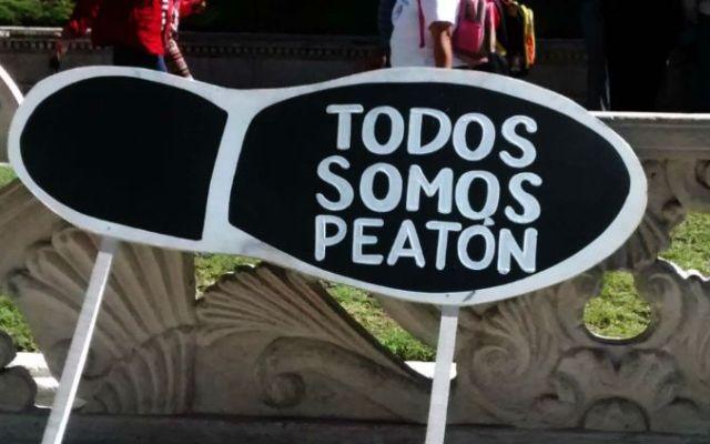 Presentan la Carta Mexicana de los Derechos del Peatón - Foto de Archivo