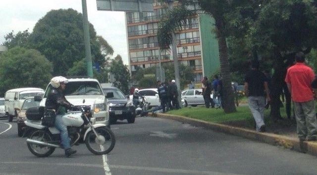 Tiroteo en División del Norte y Cuauhtémoc - Foto de Apoyo Vial