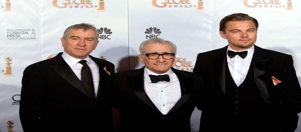 De Niro, Di Caprio y Brad Pitt juntos en película de Scorsese - Foto de Les Do It Magazine