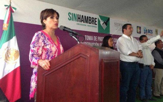 Supervisa Rosario Robles apoyo federal a BCS
