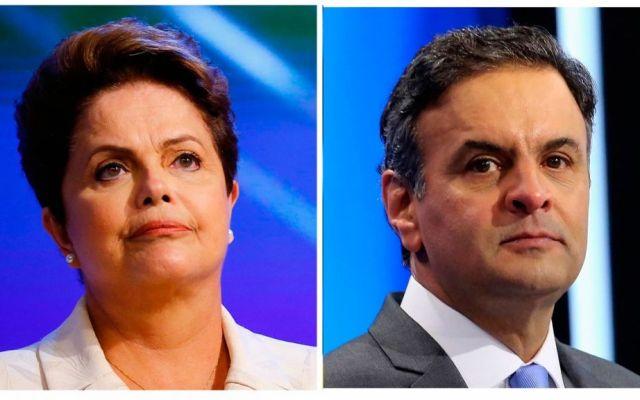 Rousseff y Neves van por la segunda vuelta - Foto de Reuters