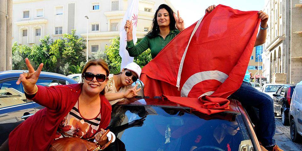 Anti islamistas ganan las elecciones en Túnez - Foto de AP