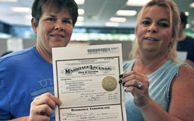Seis estados más reconocen matrimonio gay en EE.UU. - Foto de El Universal